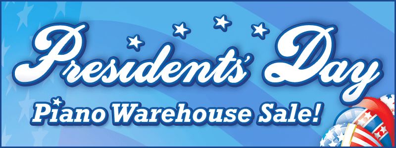 Presidents' Day Piano Warehouse Sale in the Twin Cities!