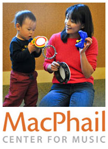 Musical Families class with MacPhail Center for Music