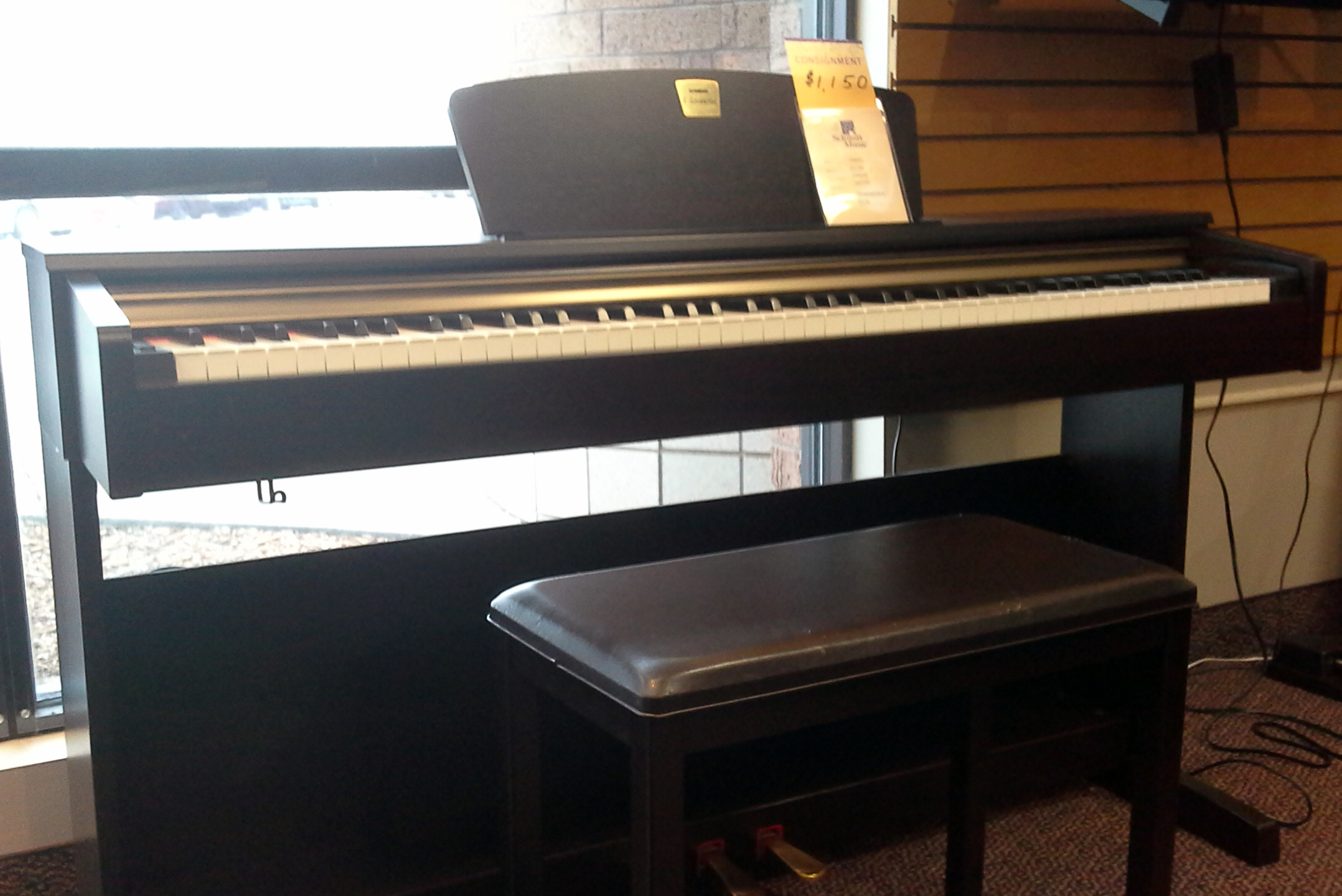 used yamaha clavinova clp 320 digital piano for sale