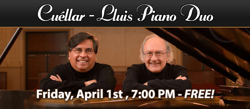 Piano Duo Cuéllar – Lluis in Concert at Schmitt Music Kansas City