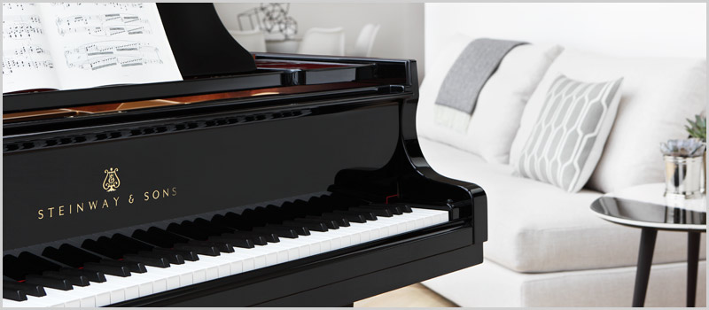 Steinway and Sons on sale at Schmitt Music piano stores