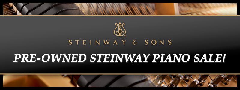 Pre-Owned Steinway Piano Sale at Schmitt Music Edina