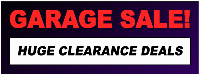 Garage Sale Clearance at select Schmitt Music stores