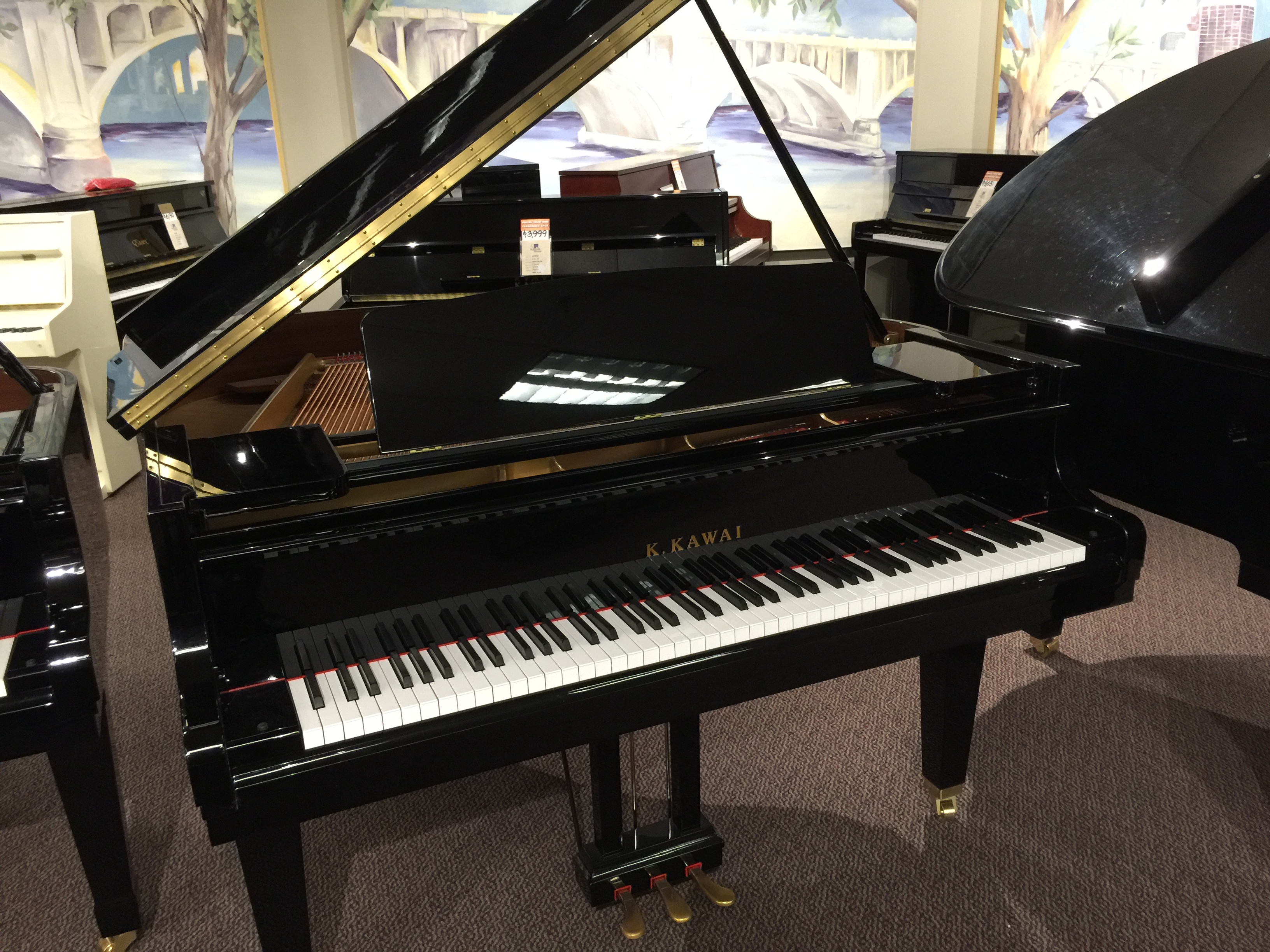 used kawai baby grand piano for sale schmitt music. Black Bedroom Furniture Sets. Home Design Ideas