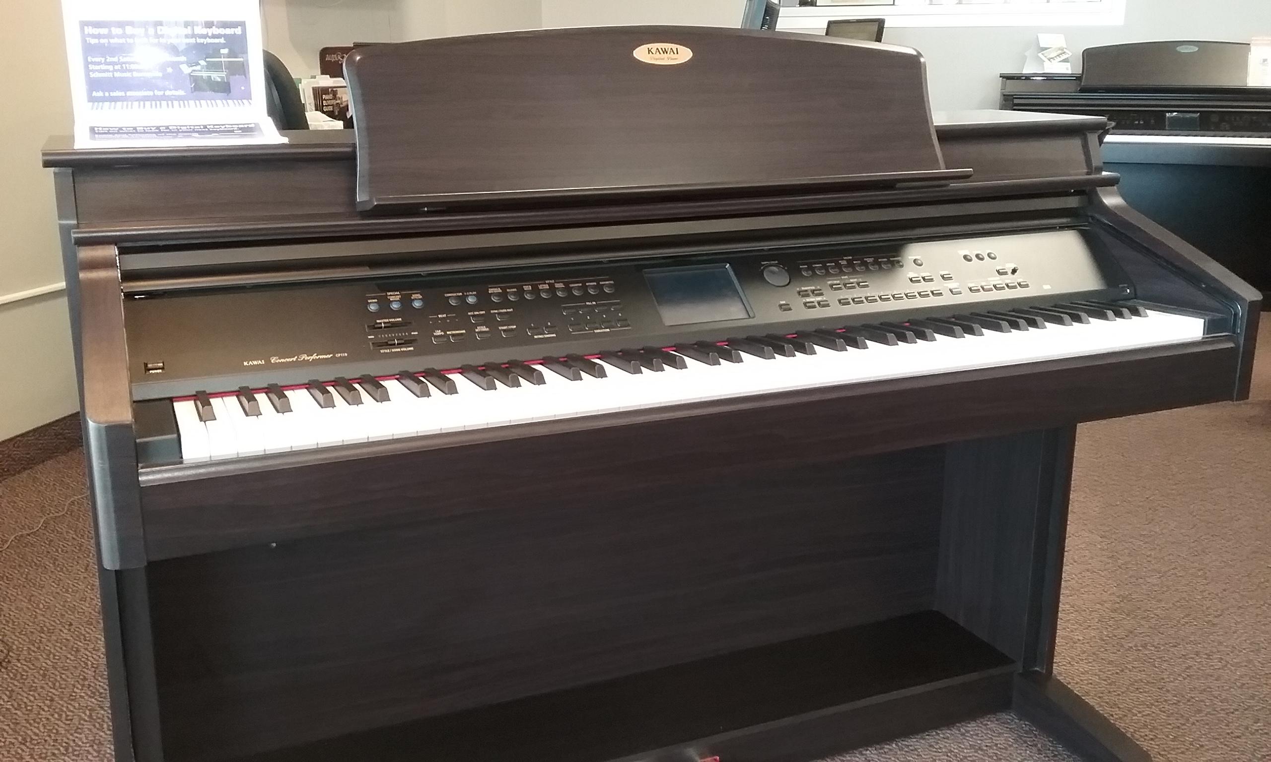 used kawai cp119 digital piano for sale schmitt music. Black Bedroom Furniture Sets. Home Design Ideas