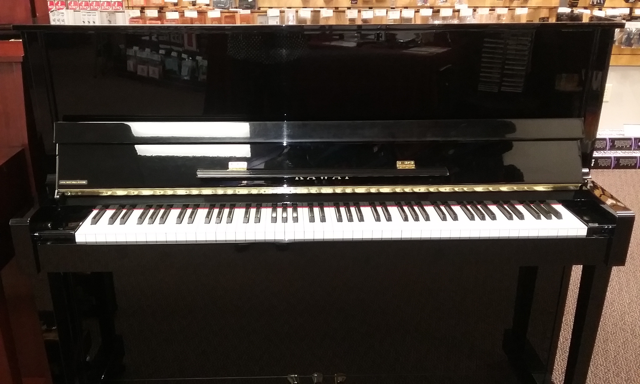 Kawai K Series Professional Upright Pianos >> Used Kawai K 25 2004 Upright Piano