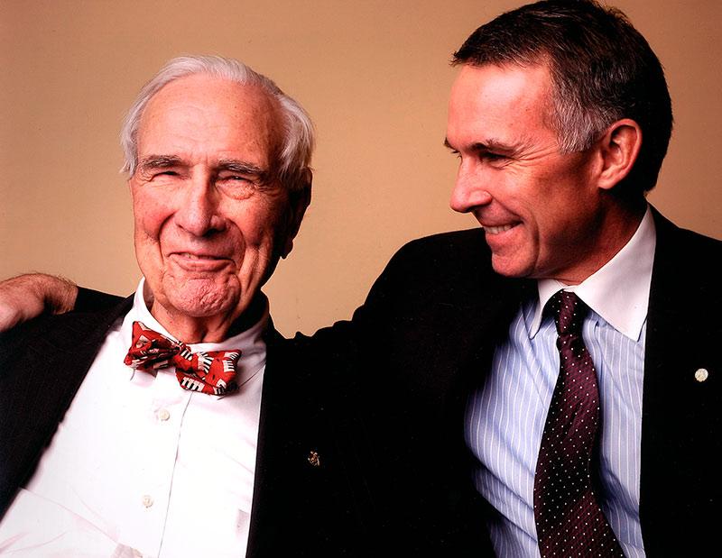 Henry Z. Steinway and Tom Schmitt