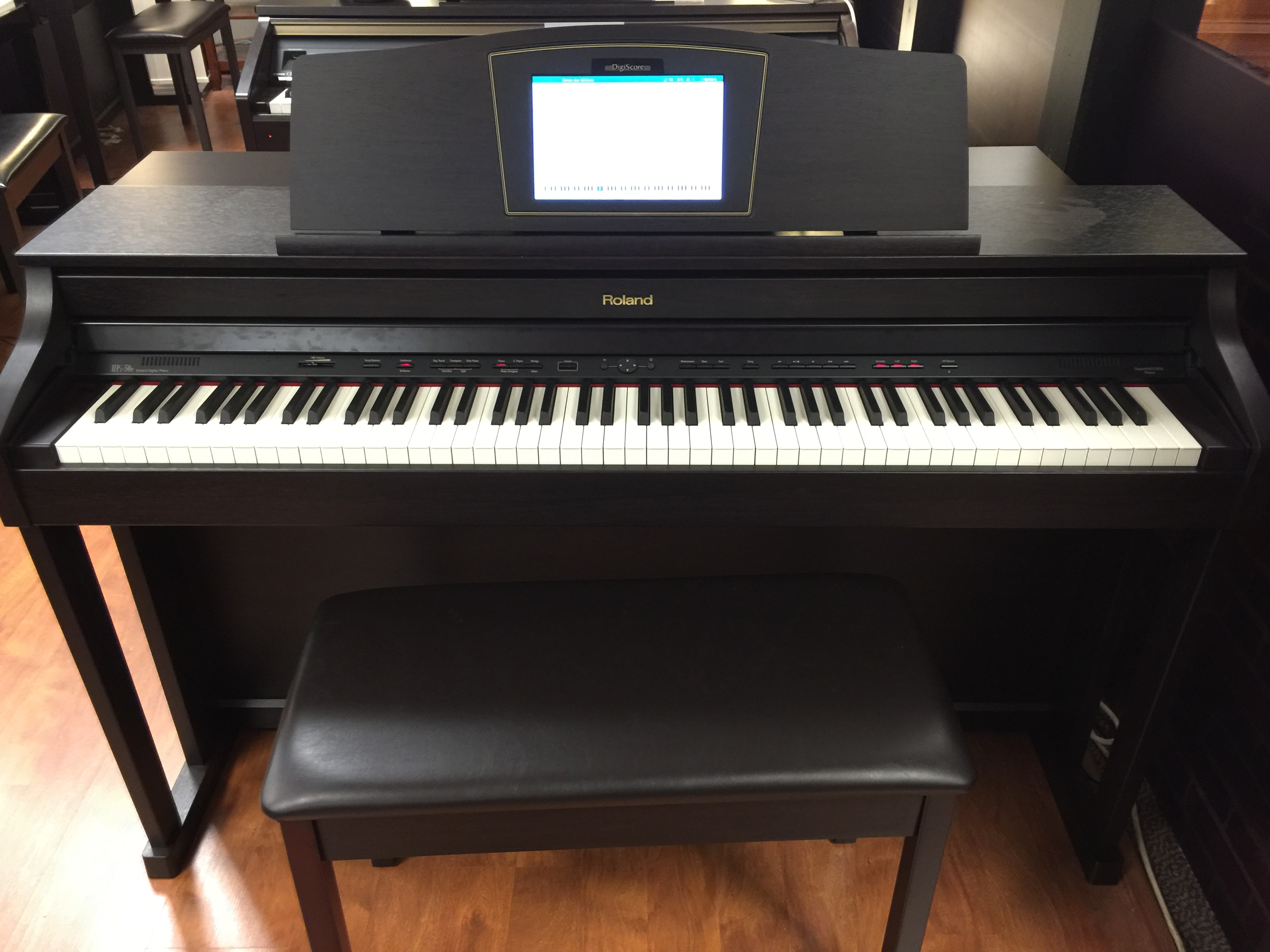 used roland hpi50 digital piano for sale schmitt music. Black Bedroom Furniture Sets. Home Design Ideas
