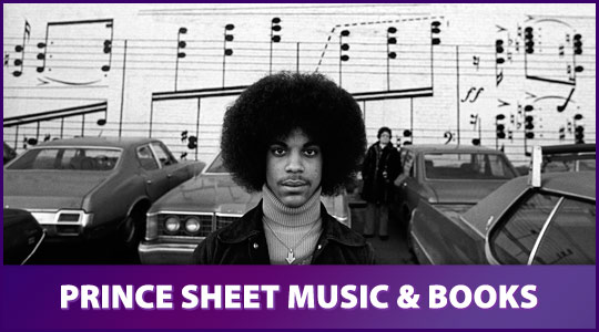 Prince: Sheet Music and Books by Prince available from Schmitt Music