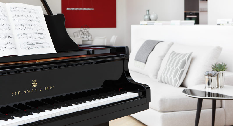 Steinway and Sons pianos, grand piano for sale at Schmitt Music