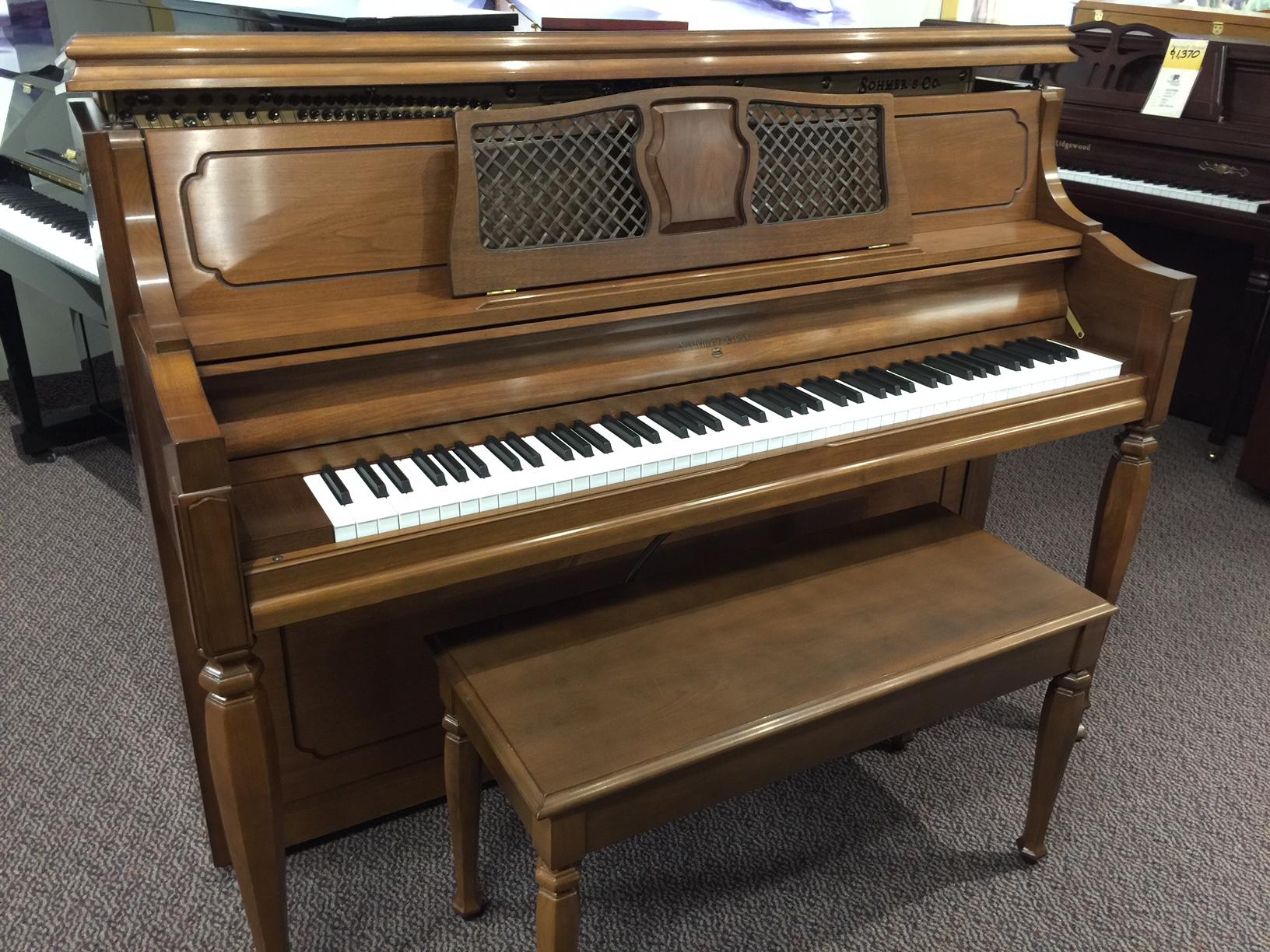 used sohmer 46 professional studio piano for sale schmitt music. Black Bedroom Furniture Sets. Home Design Ideas