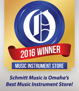 Omaha's Choice Music Instrument Store: Schmitt Music wins!