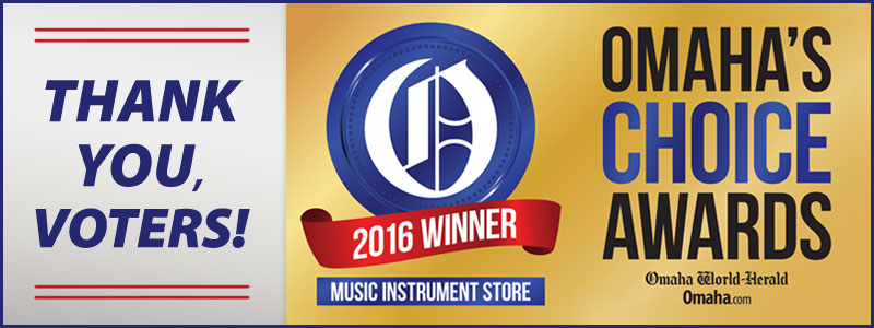 Schmitt Music is the Best Music Instrument Store in Omaha!