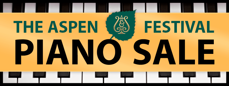 Aspen Festival Steinway Piano Sale 2018