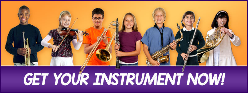 Better Than Rent Trial Purchase program for beginning band and orchestra students