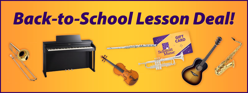 Back-to-School Music Lesson Deal!