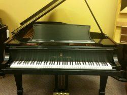 Rebuilt Steinway B Ebony Satin Grand Piano
