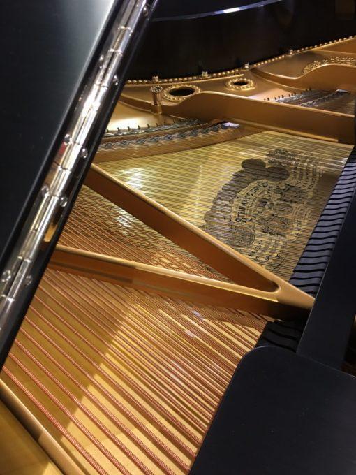 Used Steinway & Sons Model A Ebony Satin Finish Grand Piano at Schmitt Music Brooklyn Center