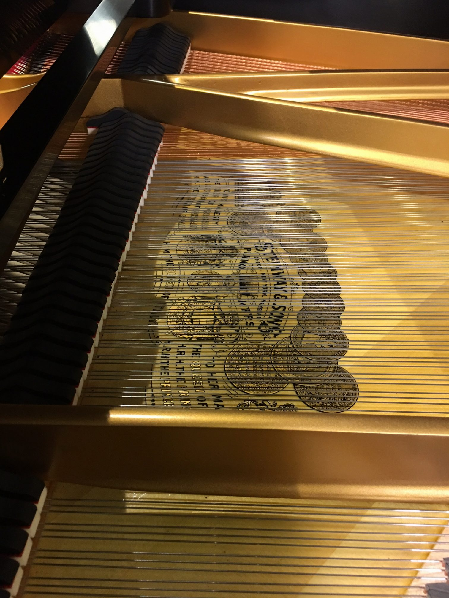 Used Steinway & Sons Model A Ebony Satin Finish Grand Piano at Schmitt Music Brooklyn Center