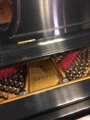 Used Steinway D 1924 9' Ebony Satin Finish Grand Piano