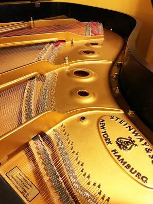 Used Steinway 2004 Model A Grand Piano