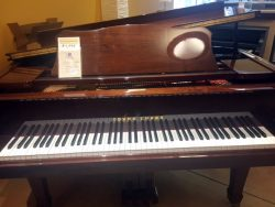 "Used Walnut Polished 5'9"" Young Chang Grand Piano"