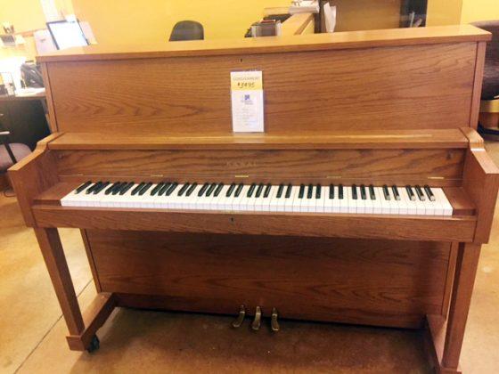 """Used 46"""" Kawai Studio Piano"""