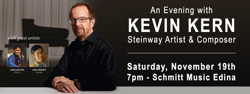 An Evening with Steinway Artist Kevin Kern at Schmitt Music Edina