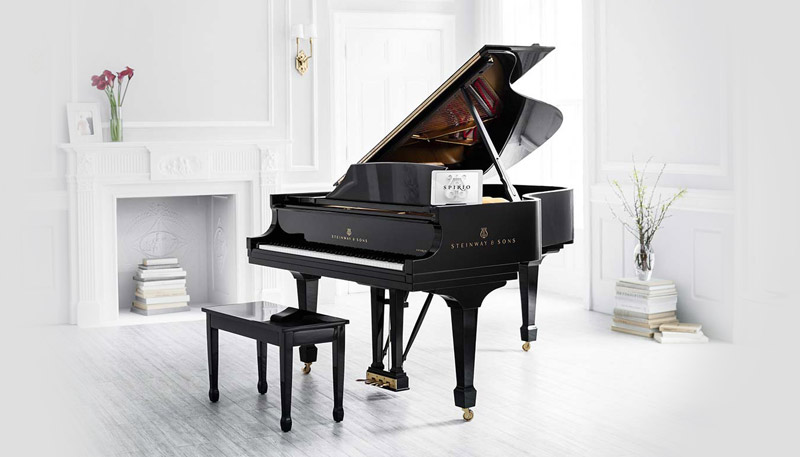 Steinway and Sons Spirio player piano dealer in Kansas City, MO