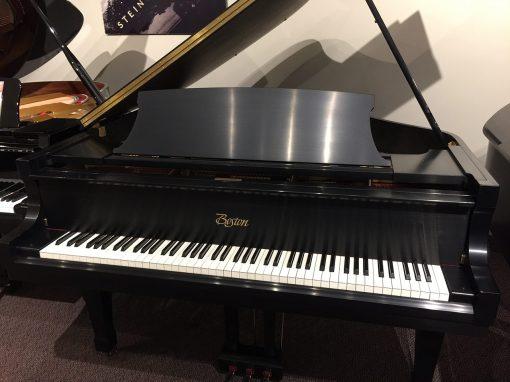 """Boston 5'10"""" Ebony Satin Grand Piano"""