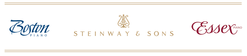 Steinway and Sons, Boston, Essex pianos