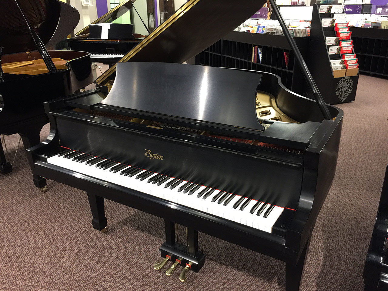 "Used Boston GP-163 5'4"" Grand Piano"