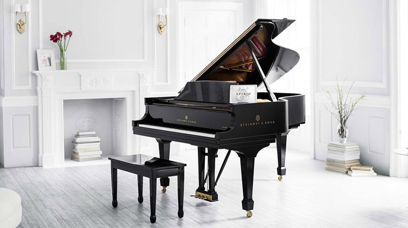 Steinway and Sons SPIRIO, high-resolution player piano at Schmitt Music