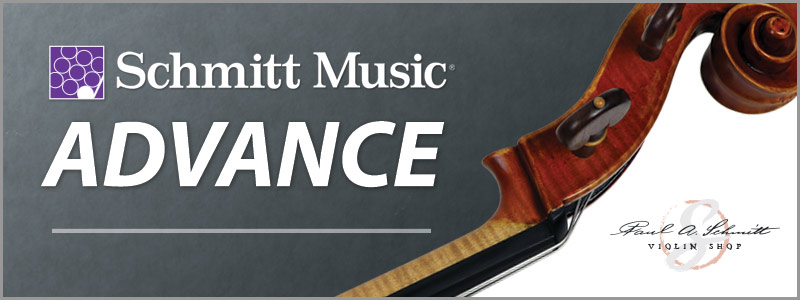 Schmitt Music's Advance: orchestral string program for advancing players