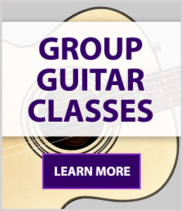 Group Guitar Classes at Schmitt Music - lessons for beginners, all ages
