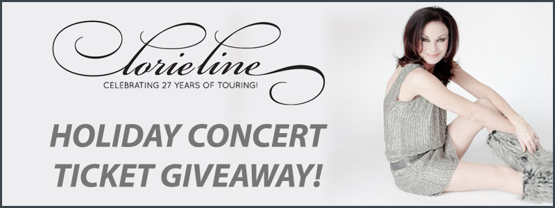 Lorie Line Holiday Concert Ticket Giveaway