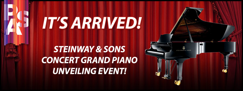 Steinway Concert Grand Piano Unveiling Event