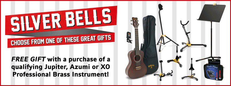 Silver Bells: Jupiter, Azumi, XO Brass instrument promotion