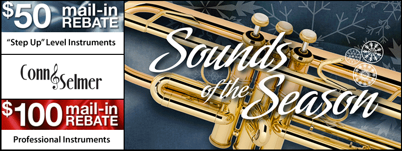 Conn-Selmer rebates, Sounds of the Season promotion