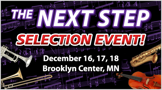 The Next Step Instrument Selection event in Brooklyn Center, MN