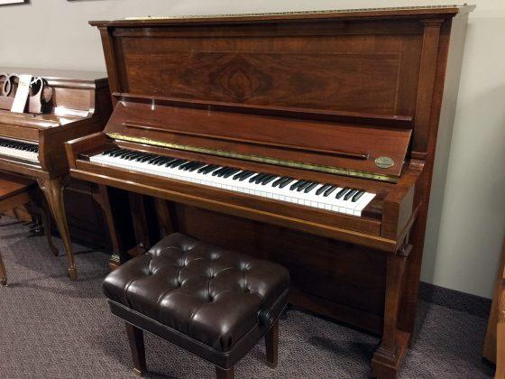 """Used Steinway Model K 52"""" Walnut Upright Piano"""