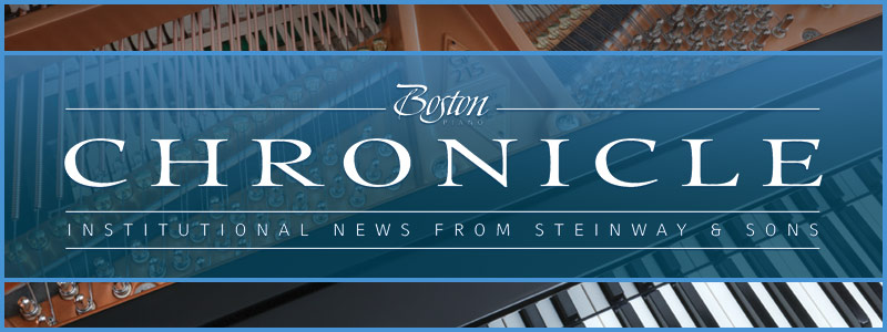 Schmitt Music Piano Specialists featured in The Boston Chronicle – Institutional News from Steinway & Sons