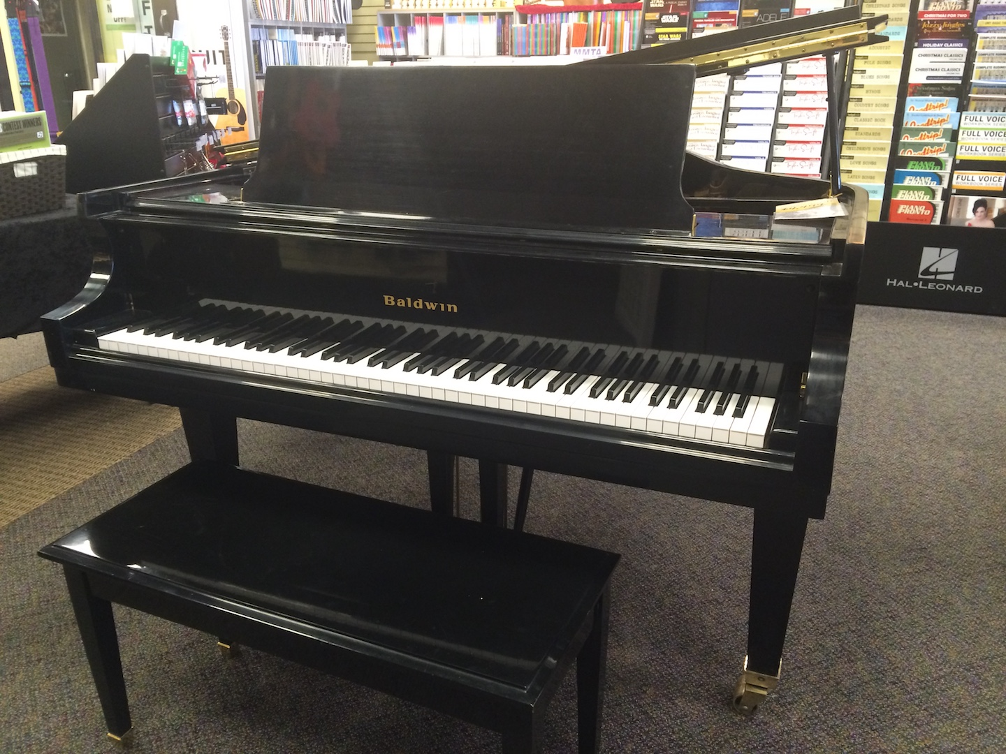 Consignment Baldwin 5 4 Model M Baby Grand Piano