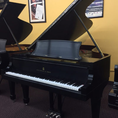 Used Steinway Model B Ebony Satin Grand Piano