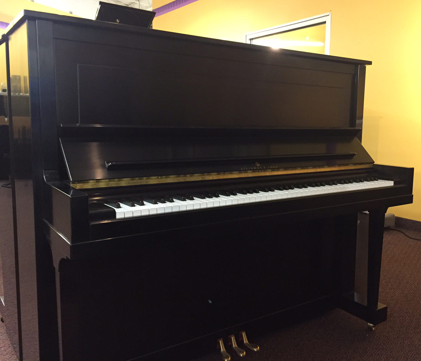 Used Steinway Model K52 Upright Piano
