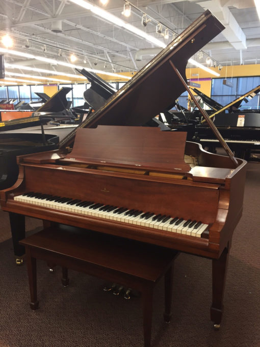 Used Steinway Model M Mohagany Satin Grand Piano