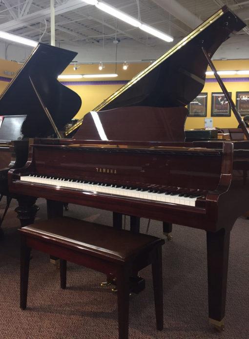 Used Yamaha GH1 Mahogany Polish Grand Piano