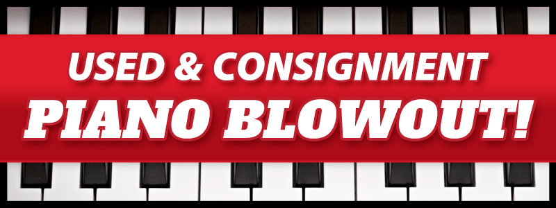 Used & Consignment Piano Blowout Sale at Schmitt Music Brooklyn Center!