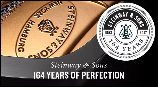 Steinway and Sons pianos 164th Anniversary Sales Event