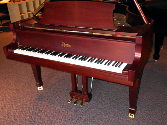 Used Boston Mahogany Satin Grand Piano